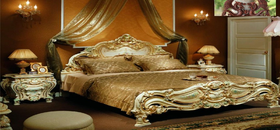Stylish Bedroom Furniture Aged Antique Favor Item Resources And